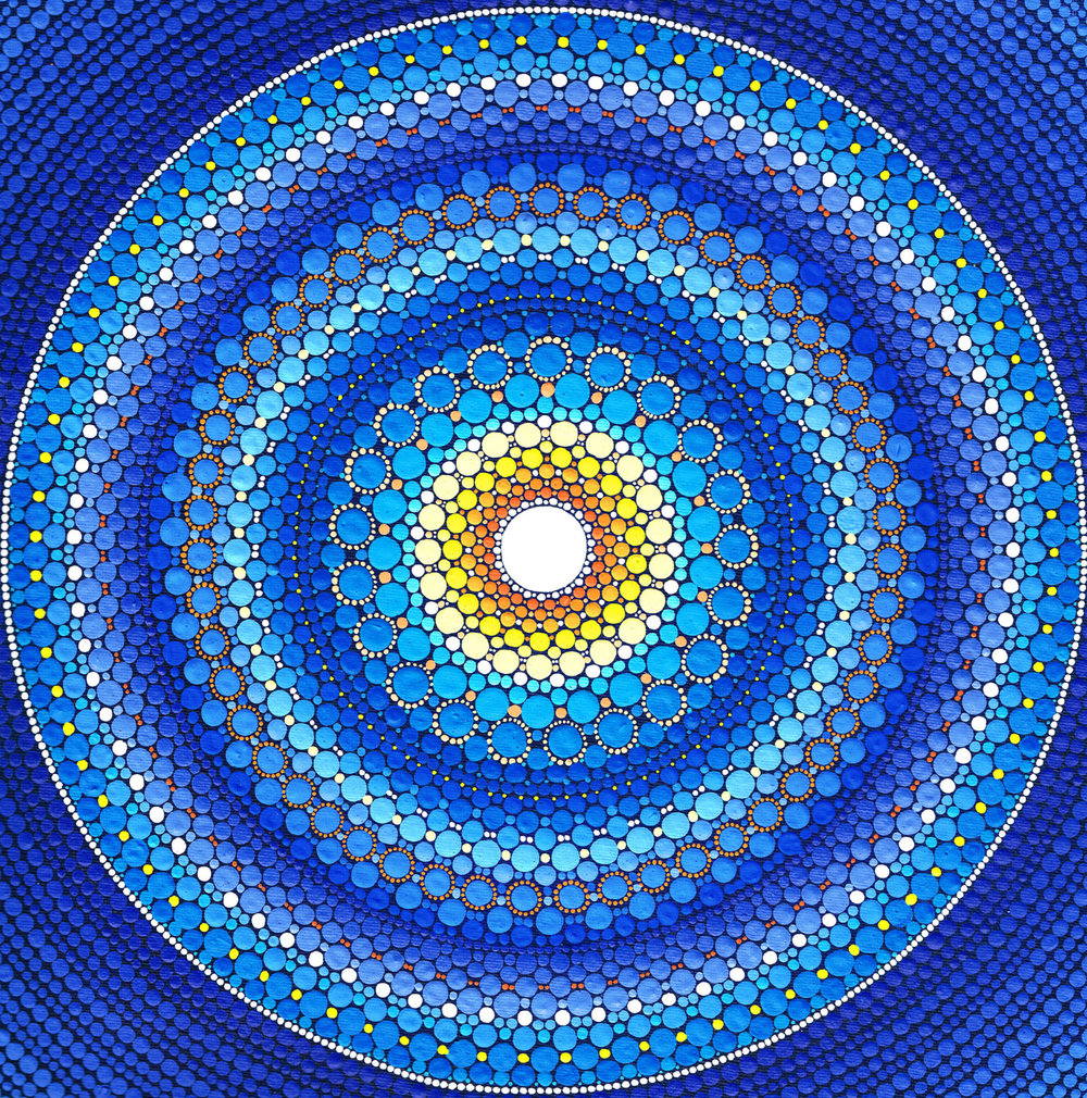 Moon Star Mandala