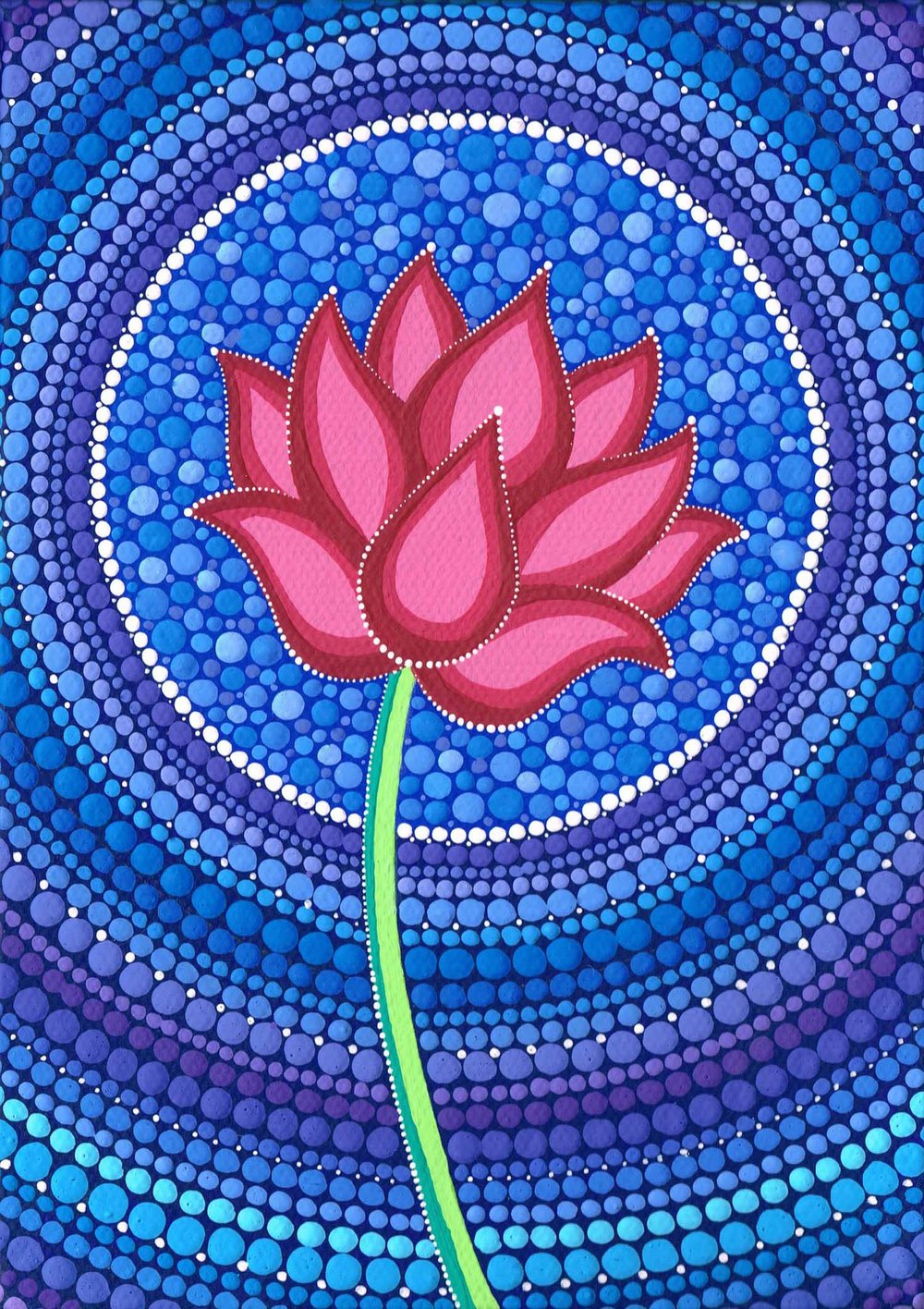 Splendid Lotus Flower