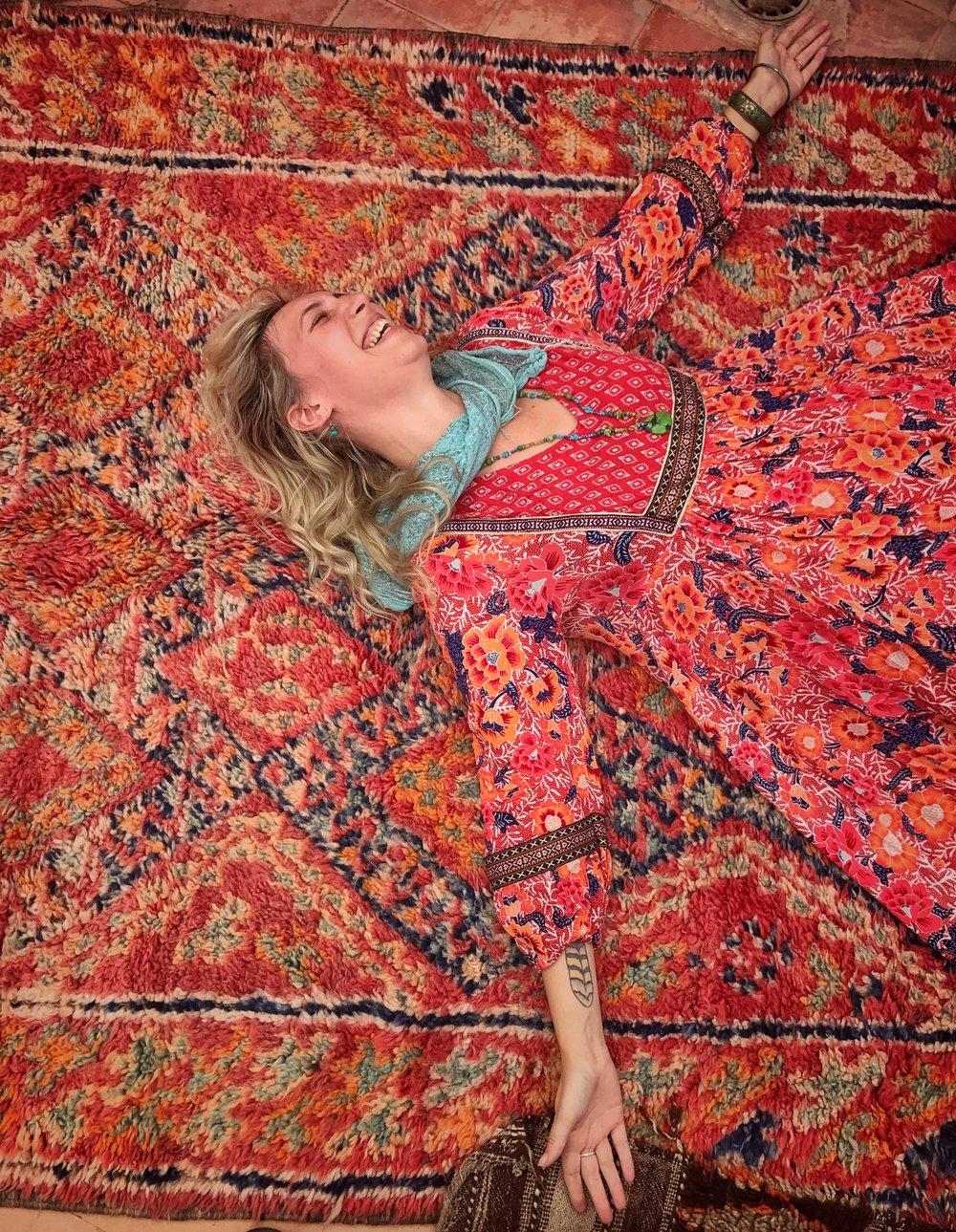 Matching a rug!