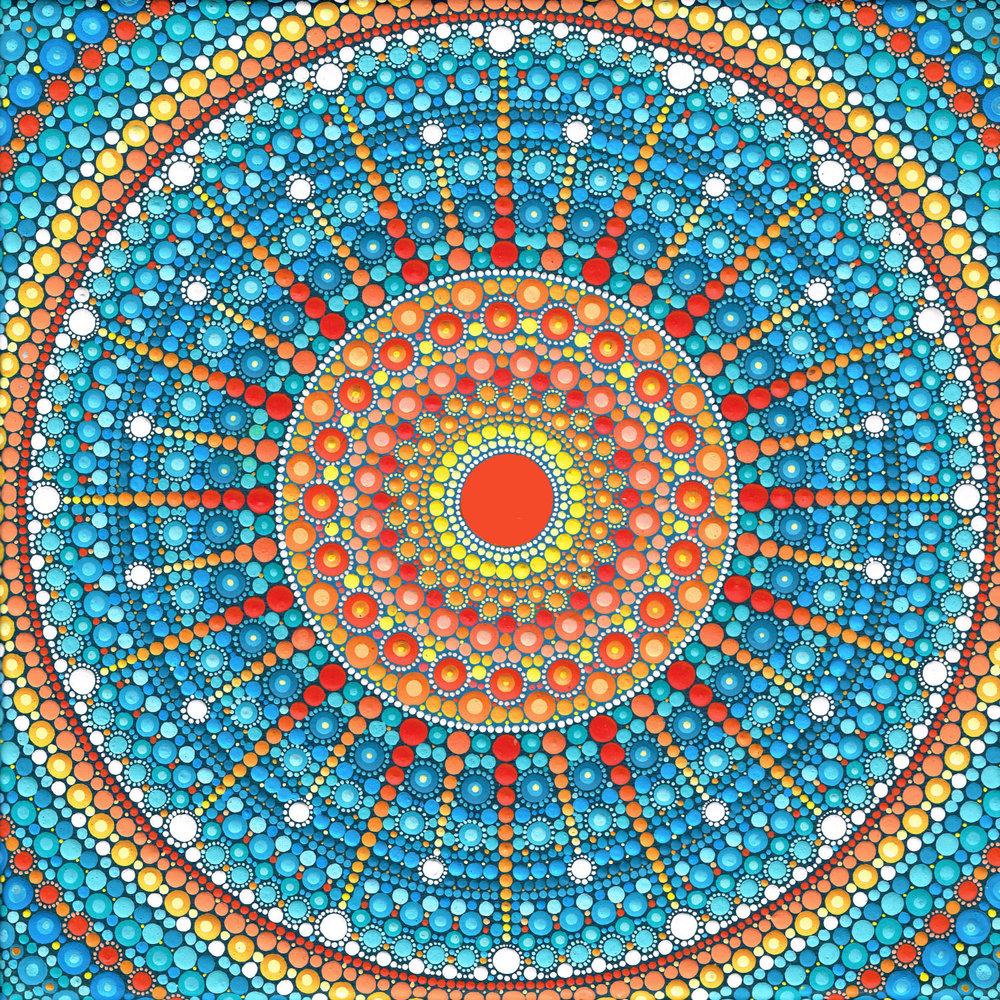 Starburst Mandala