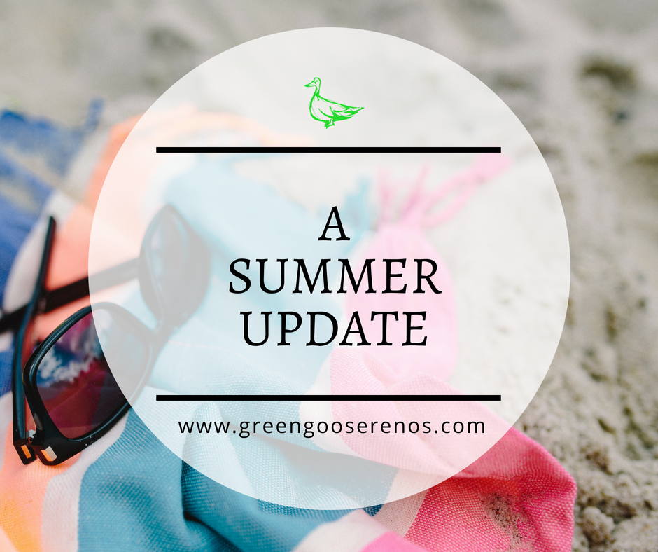 A summer update from Green Goose Renovations & Construction