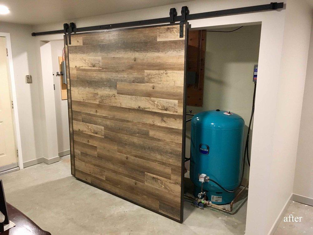 Dramatic, unique, custom barn doors in the East Kootenays.