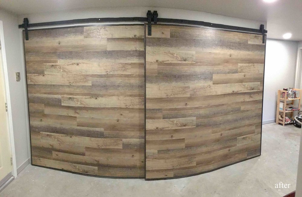 Big custom barn doors hand made in the East Kootenays.