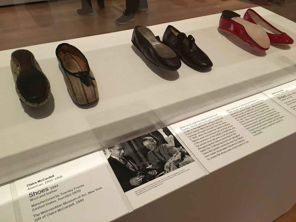 What goes around, comes around.  Woman's shoe style that is popular now was also in 1944.