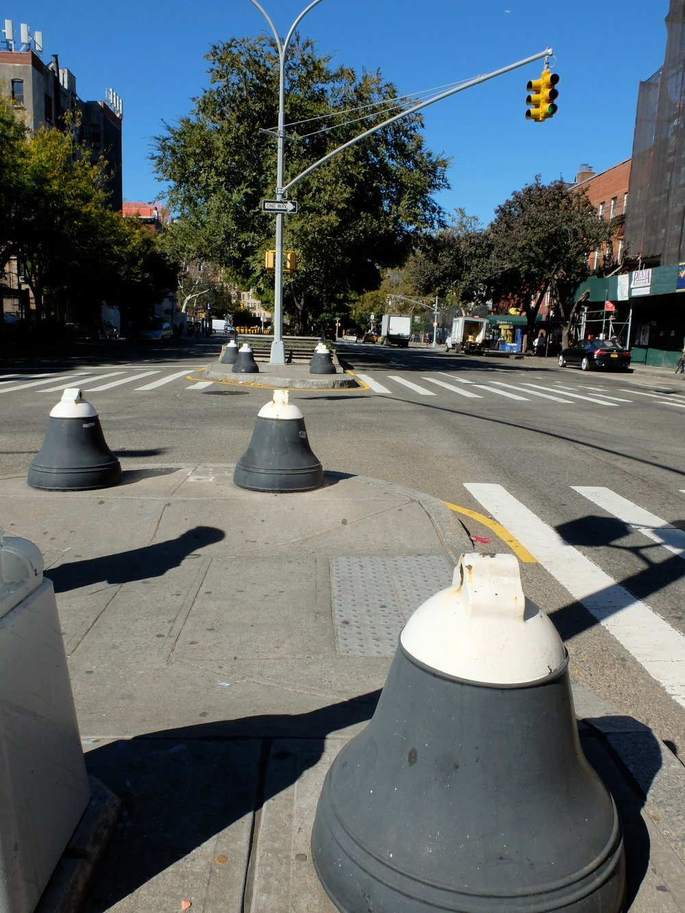 These bollards may date from the early 1900's.
