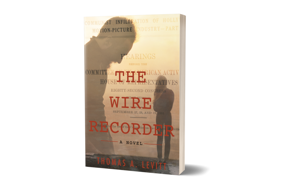 Transparent The Wire Recorder 3D Front Cover.png
