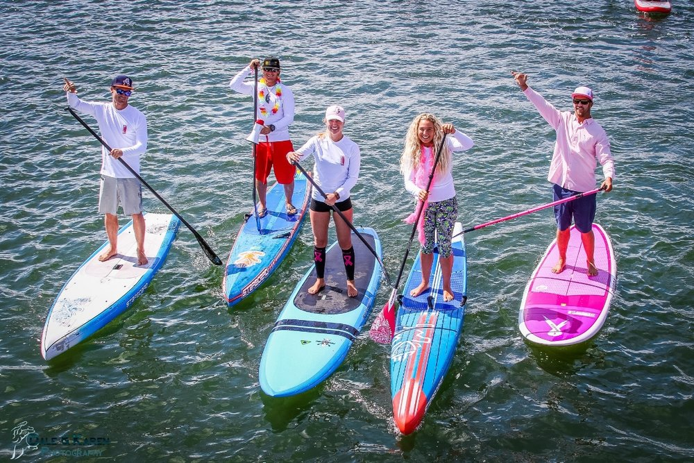 Join the Standup Paddling Community   Participate in a Standup for the Cure event to raise awareness and funds for breast cancer screening and research!   Upcoming Events