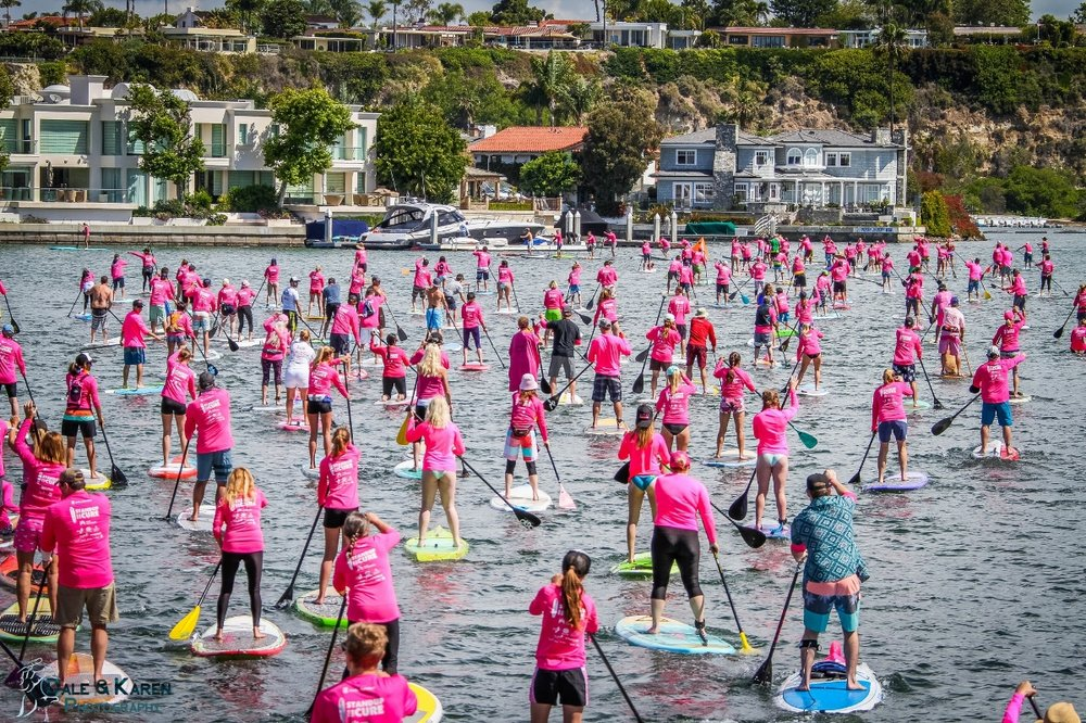 The Sea of Pink   Whether a novice or a pro, bring your family and friends to participate in workshops, enjoy live music, celebrate survivors and raise awareness together!   Learn More