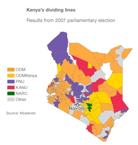 kenya-2007-election-results