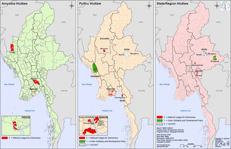 myanmar ethnic rebel map