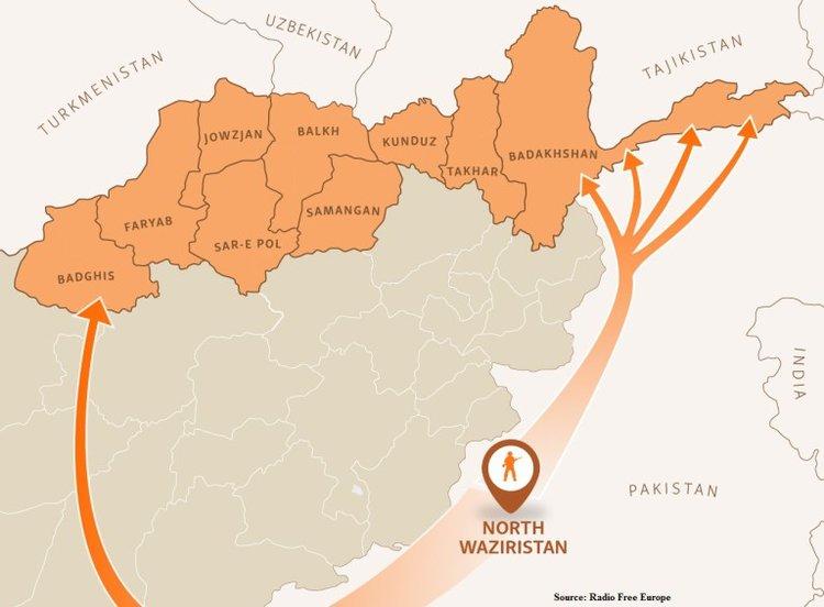 Tajikistan Afghanistan insurgents
