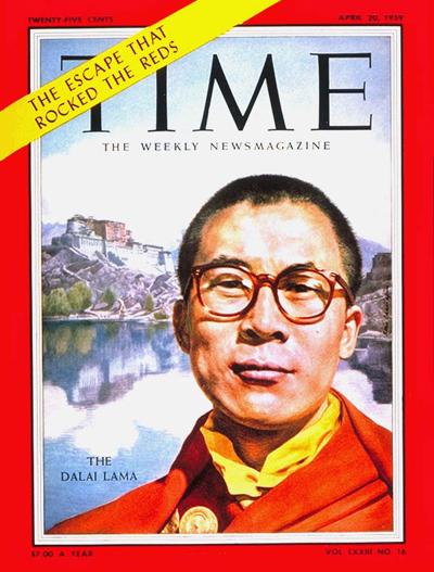 The Dalai Lama's escape from China has global news