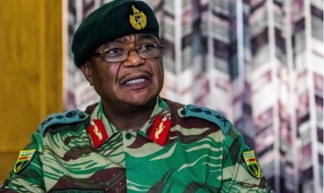Warns of military intervention - Army Chief General Constantino Chiwenga