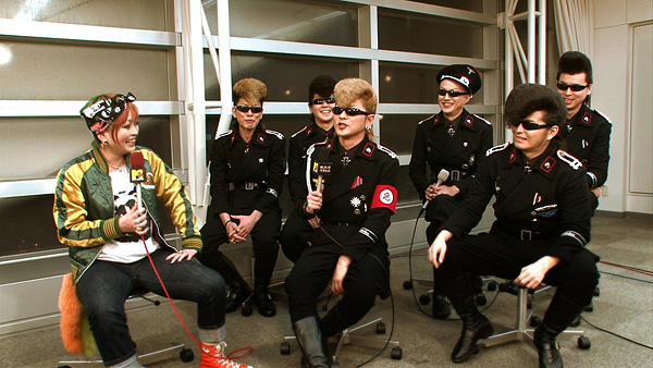 Japan's Kishidan during their infamous 2011 MTV interview.