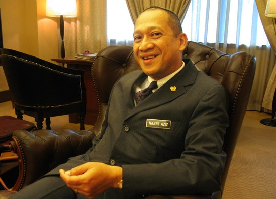 Not bothered: Malaysian Tourism & Culture Minister Nazri Aziz