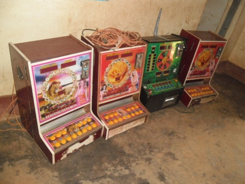 One armed bandits: Chinese slot machines confiscated by Kenyan police