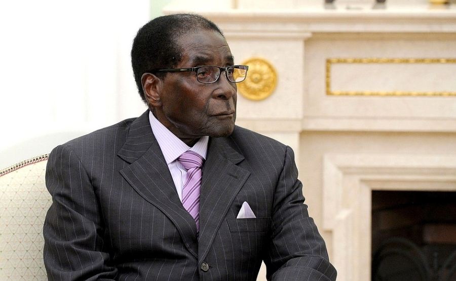 Study hard and get off social media: President Robert Mugabe