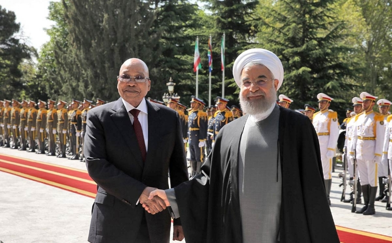 Under President Zuma, South Africa-Iran have continued to deepen. Source: IRNA