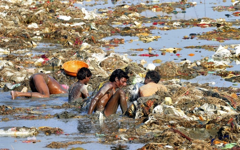 The Ganges is one of world's most poisonous rivers, and water source for 400 million Indians |  WIKIMEDIA COMMONS