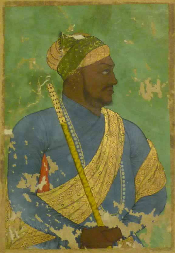 A case where the moniker clearly fits the man: Ikhlas Khan, African prime minister of Bijapur, modern day India c. 1650