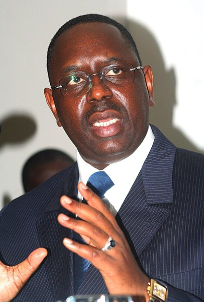 President Macky Sall, leader of Senegal since 2012 |  WIKIMEDIA COMMONS