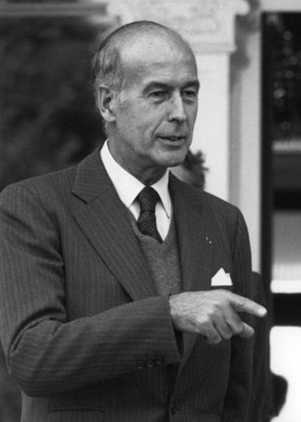 French president Valéry Giscard d'Estaing in 1979 |  WIKIMEDIA COMMONS