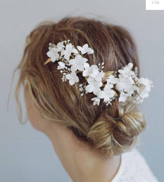 TWIGS & HONEY - Cherry Blossom Burst Headpiece