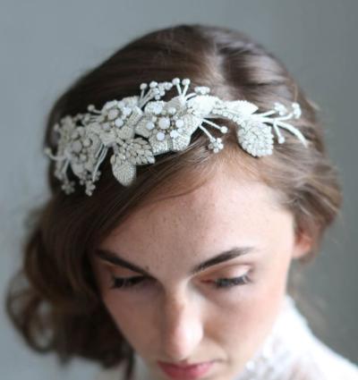 TWIGS & HONEY - Opal Enchanted Beaded Floral Headband