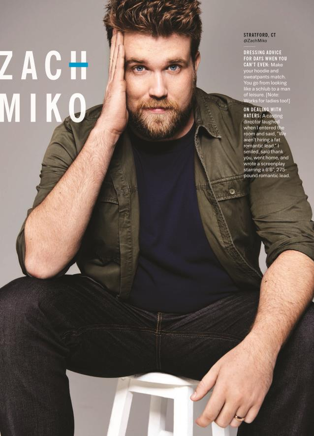 Zach in Cosmopolitan