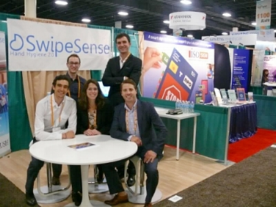 """Throwback"" photo of SwipeSense at APIC 2013"