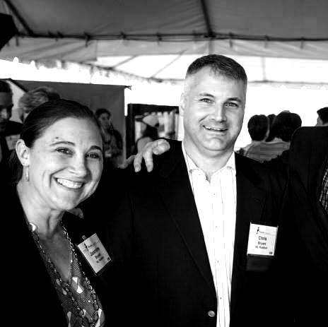 Jasmine Bryant '95, Ruddock, Caltech Fund Chair + Chris Bryant '95, Ruddock, Vice President, Caltech Alumni Association