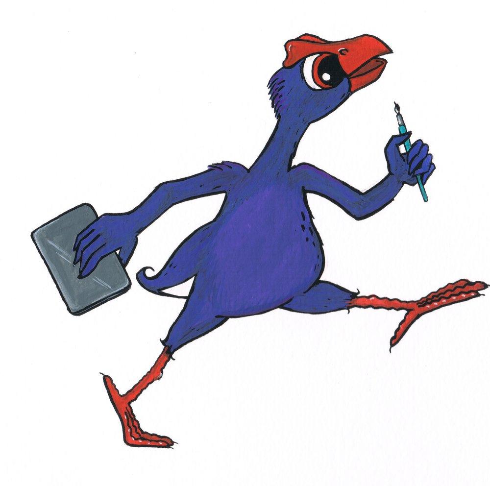 Purple Chicken Press Logo