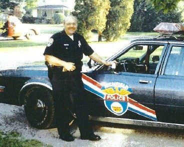 Officer Vincent R Celebrezze 1940-1988. A proud member of the Richfield Police Department.