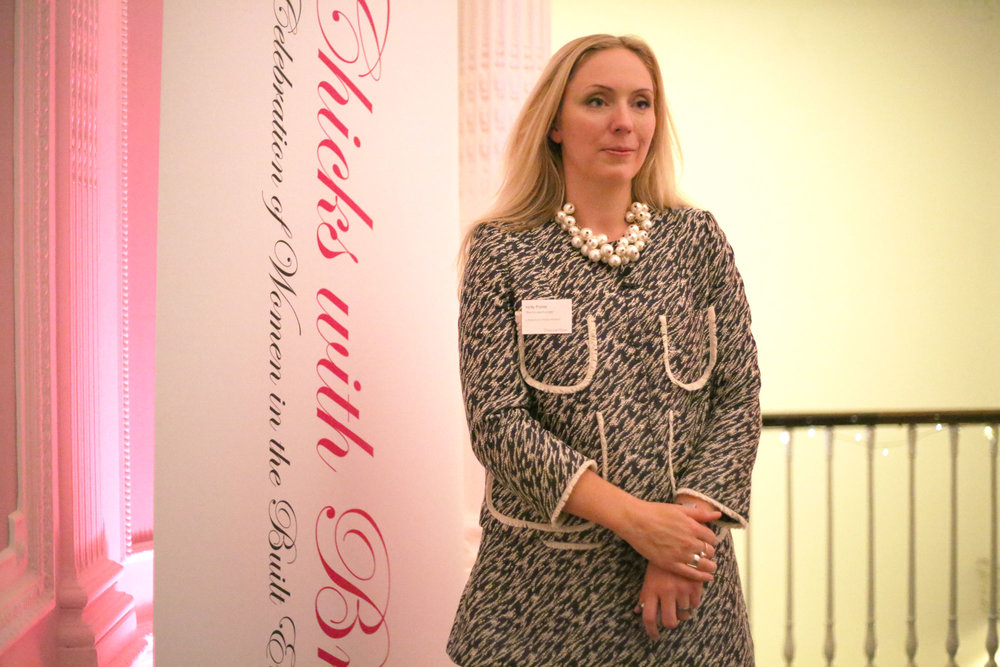 Holly Porter, Founder of Chicks with Bricks