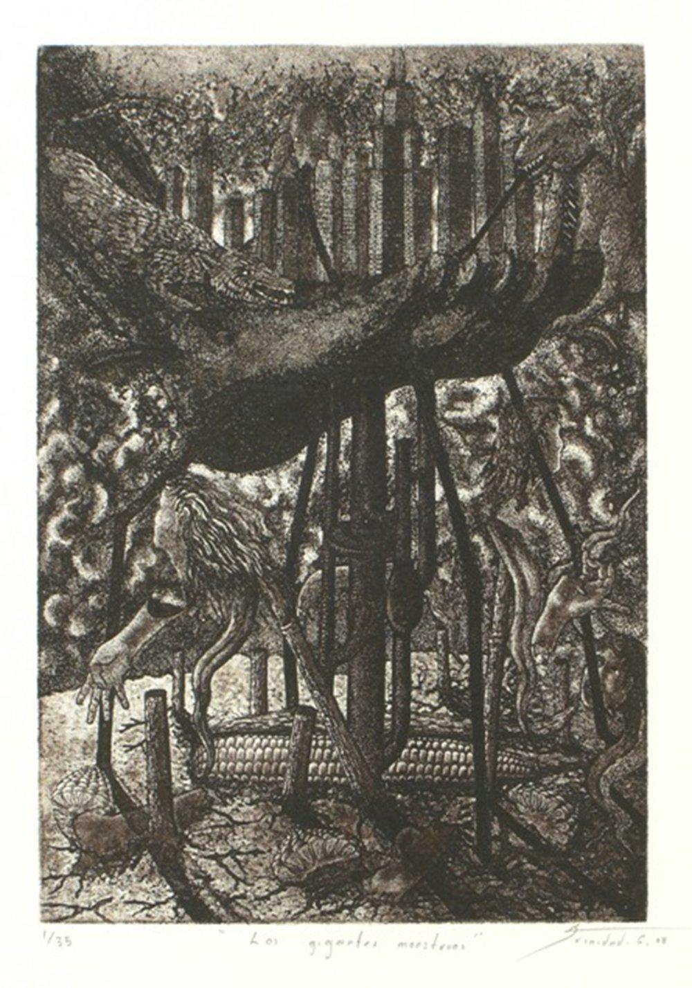Los gigantes monstruos by Gabriel Trinidad.JPG