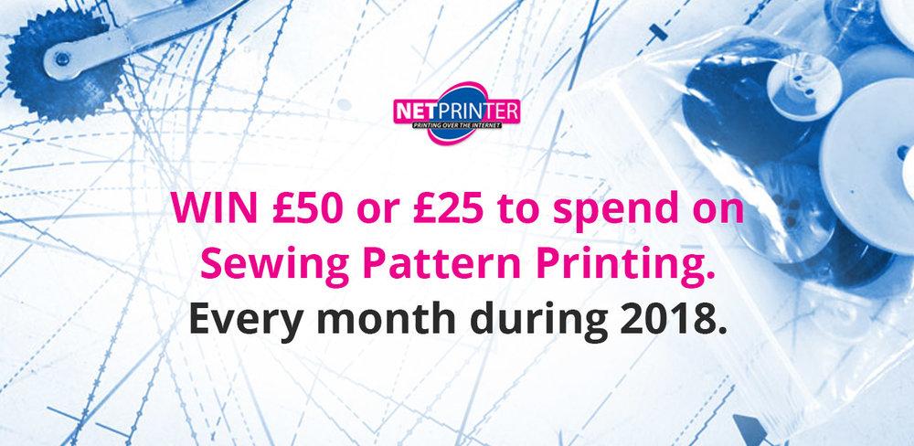 The 2018 NetPrinter Sewing Pattern Printing Giveaway! — My Handmade ...