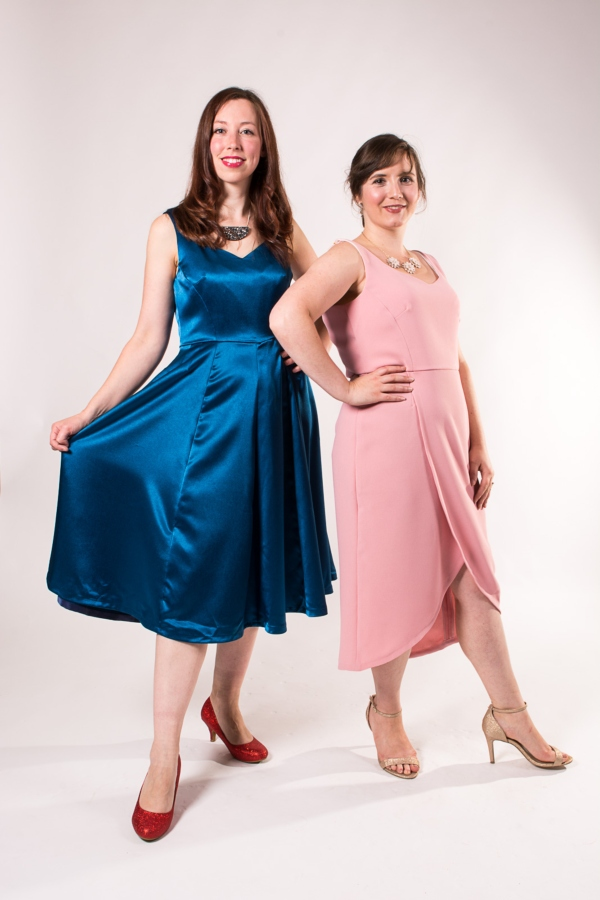 The Ready to Party Dress - The Party Dress includes two neckline styles and two skirt options, which can be mix and matched to allow you to sew the party dress of your dreams.The pattern features a low back neckline, princess seams, a fully lined bodice and delicate straps. We've also included all-important pockets!PDF Pattern £9