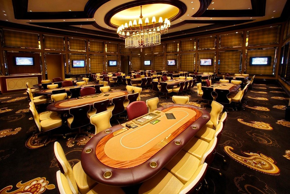The last poker room I worked in. River City Casino - St. Louis