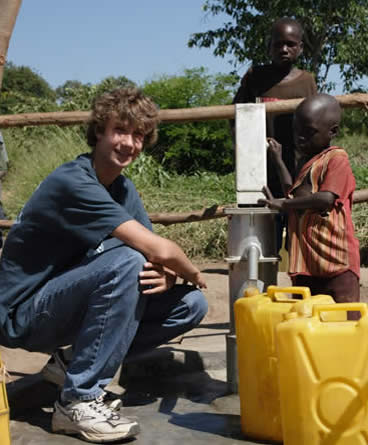 Ryan Hreljac, America - In 1998, at six years old, Ryan Hreljac learned that kids in Africa often had to walk several kilometres each day just to access clean water. Even in Ryan's limited experience of the world, this seemed wrong. Using money he earned from household chores and funds he raised from speaking publicly at different events about Africa's clean water issues, Ryan managed to fund the construction of his first well in a Northern Ugandan village in 1999. He didn't stop there, however, and established Ryan's Well Foundation, an organisation that so far has helped build over 822 water projects and 1025 latrines, bringing safe water and improved sanitation to over 805,813 people. Ryan is now in his early twenties. Source: http://www.mnn.com/lifestyle/responsible-living/photos/8-amazing-kids-who-have-changed-the-world/ryan-hreljac#top-desktop