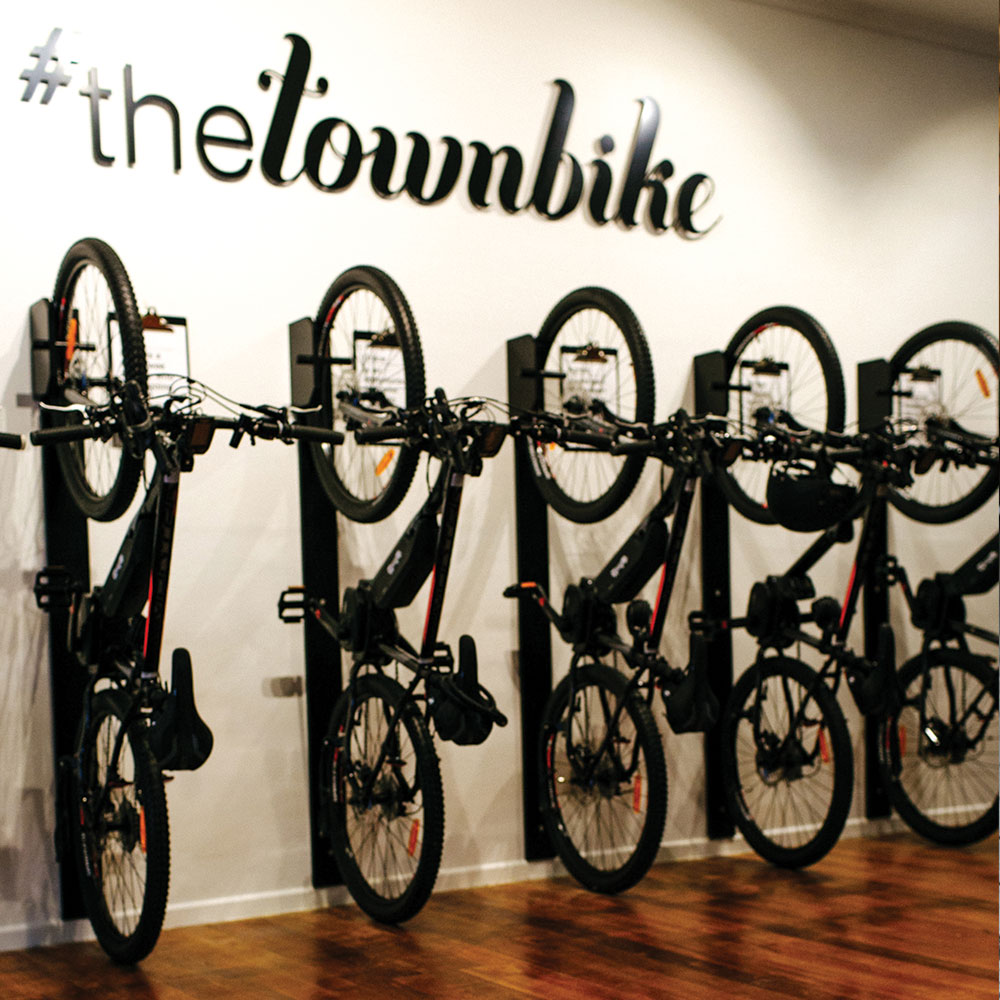 THE TOWN BIKE SMALL BUSINESS MAKEOVER -
