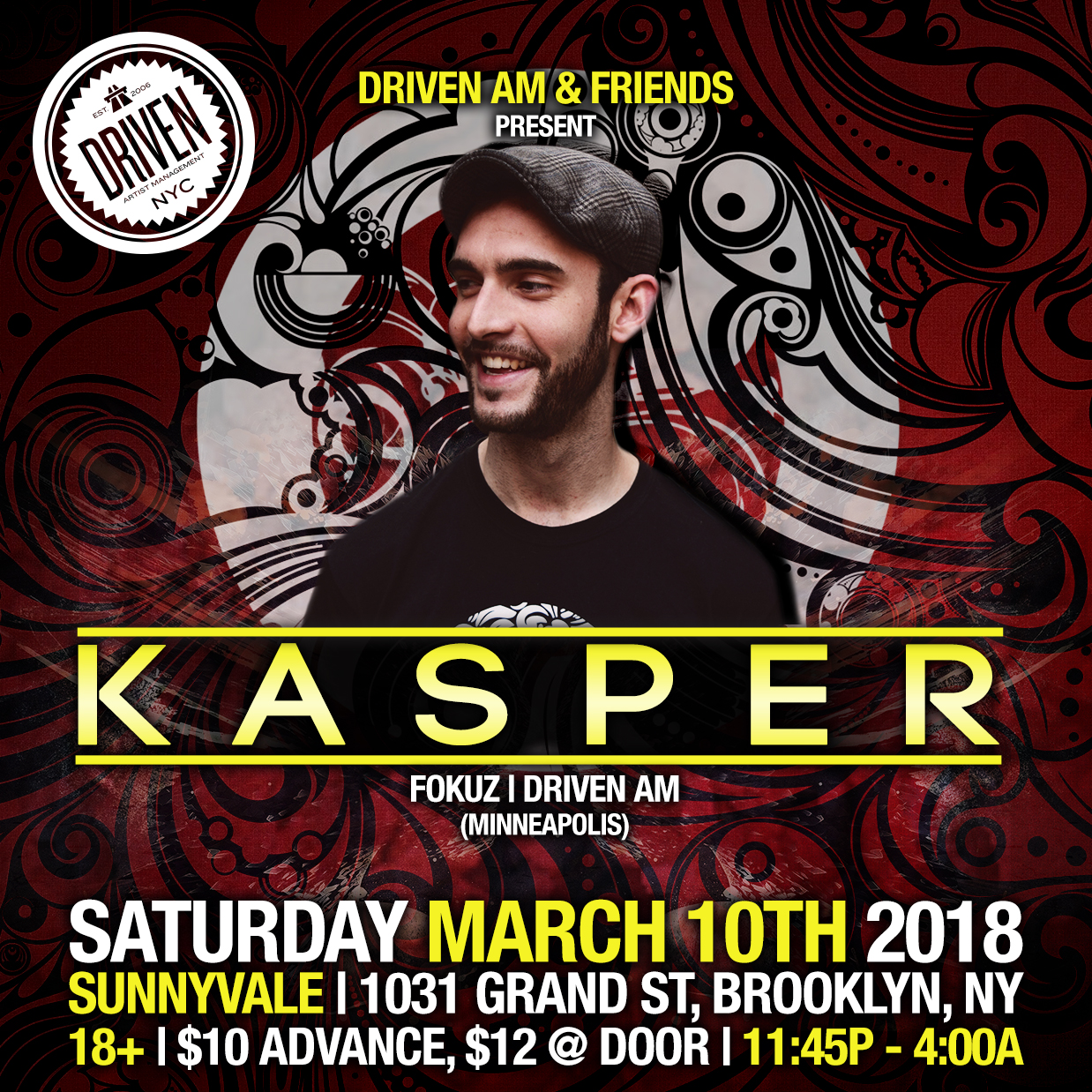 NYC DnB Events — Driven AM Recordings