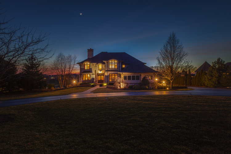 domophotos real estate twilight photography beautiful photo example