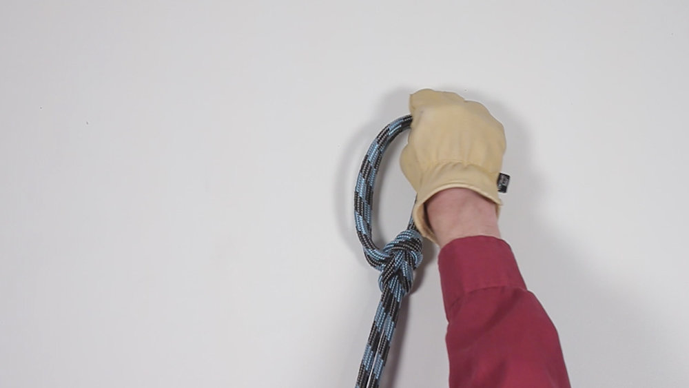 Bowline on a Bight (Hands)