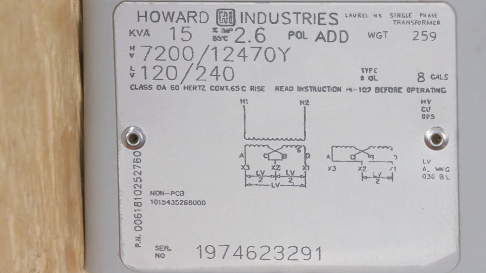 Transformer Nameplates