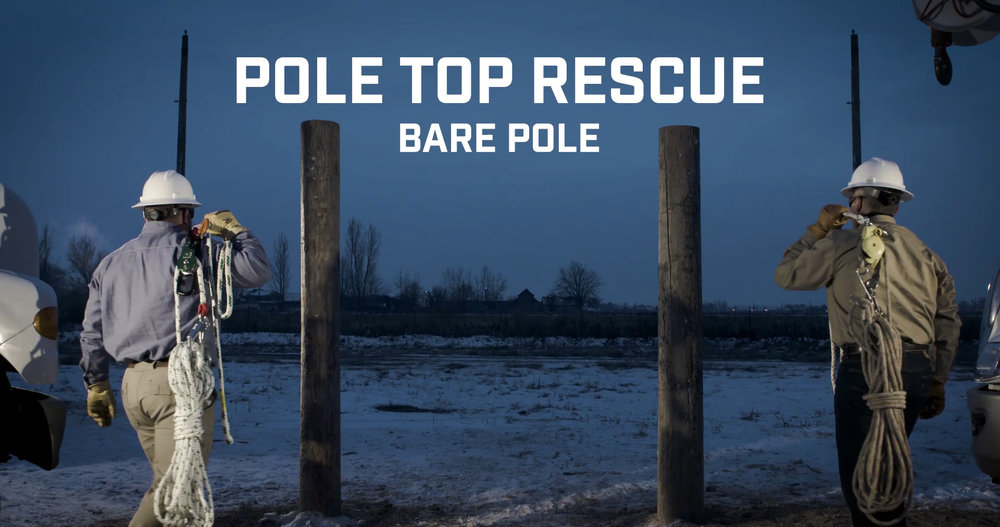 Pole Top Rescue - Bare Pole