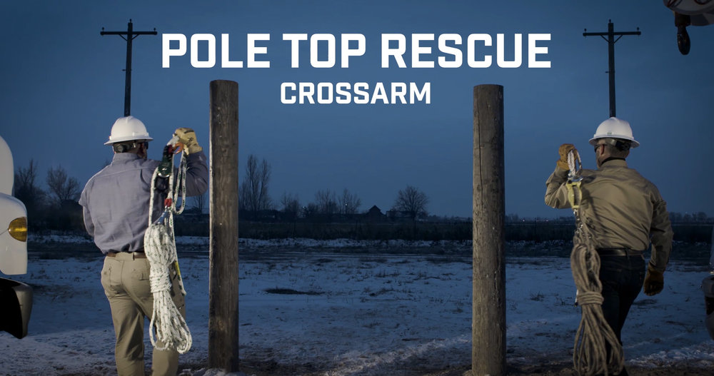 Pole Top Rescue - Crossarm