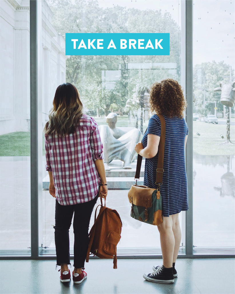 Be obsessed with stress or #blessed with besties? Just take a break at the Speed. #BreakAtTheSpeed