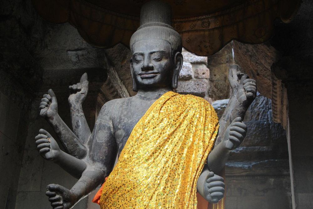 Vishnu /Ankor Wat, Siem Reap, Cambodia.
