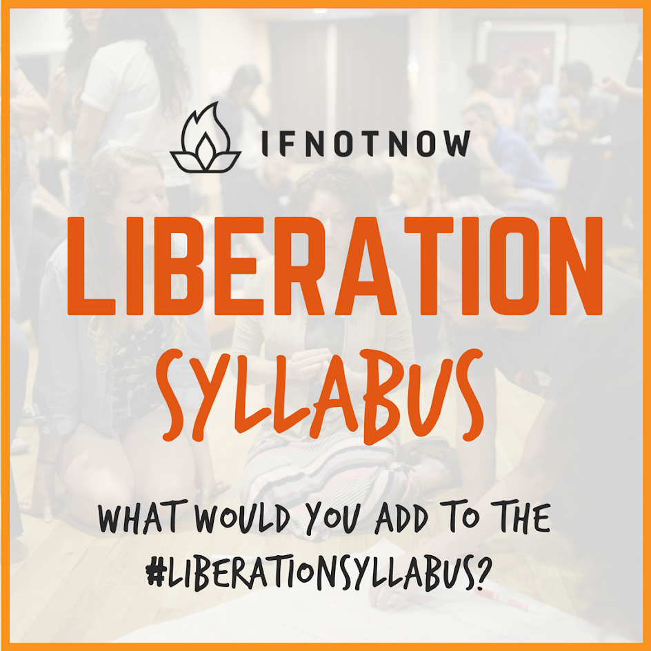 Students deserve to learn the truth from their teachers before they graduate - not after. Join us as we crowdsource a #liberationsyllabus - what book, film or topic has opened your eyes to the Occupation? Add your submission with the hashtag, and  check the full syllabus .