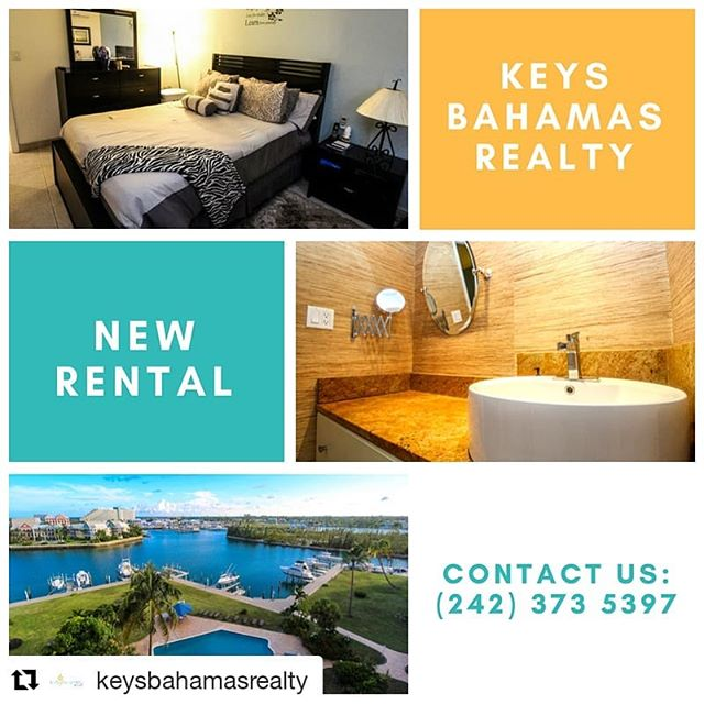 My newest rental listing! A beautiful 1 bedroom 1 bath condo and the views are just as gorgeous 🌴 @keysbahamasrealty ・・・ Situated at Harbour House Towers lies this lovely 1 bedroom unit available for rent. Great rental for any young professional.  This unit comes elegantly furnished and has beautiful canal front views. A must see!  Contact us today: 242 373 5397 http://ow.ly/y44Z50ihylQ  #saltlife #YACHT #grandbahama #buy #invest #work #workflow #waterfront #beach #boat #beachday #tuna #boating #rental #vacation #marina #yachtclub #relax #airbnb #income #photography #bahamas #keysbahamas #weekend #modern #houzz
